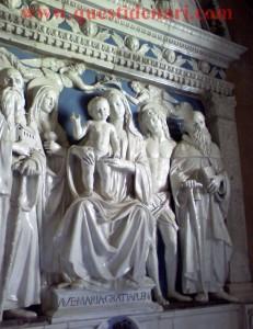 Andrea Della Robbia: Madonna con Bambino e Santi - Sacro Eremo di Camaldoli (Ar)