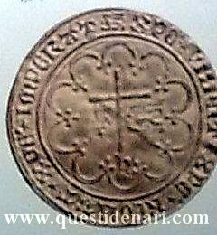 Salute d'oro (1433-1444) di Enrico VI, re d'Inghilterra e Francia