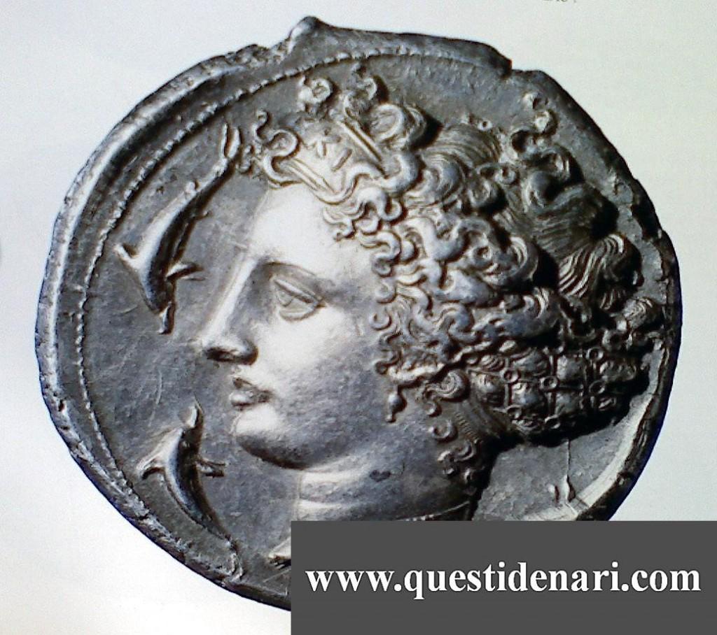 Decadracma d'argento di Siracusa (400 A.C. circa)